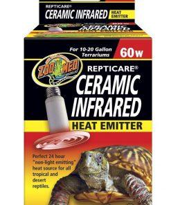 Zoo Med Ceramic Heat Emitter 10-20gal 60 watt