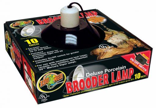 Zoo Med Deluxe Porcelain Brooder Lamp 10in