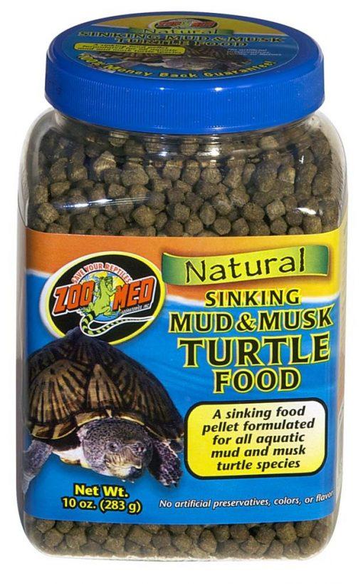 Zoo Med Natural Sinking Mud & Musk Turtle Food 10oz