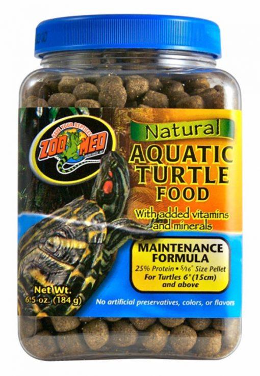 Zoo Med Natural Aquatic Turtle Food Maintenance Formula 6.5oz