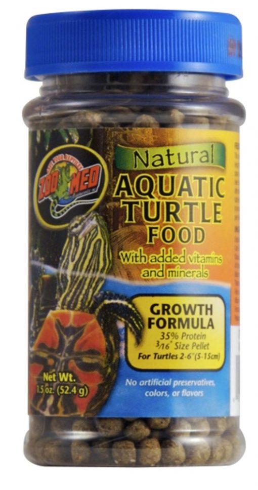 Zoo Med Natural Aquatic Turtle Food Growth Formula 1.85oz