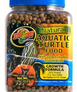 Zoo Med Natural Aquatic Turtle Food Growth Formula 7.5oz