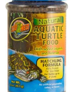 Natural Aquatic Turtle Food – Hatchling Formula 1.6 oz