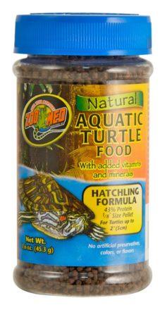 Natural Aquatic Turtle Food – Hatchling Formula 1.6 oz