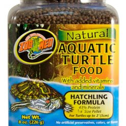 Natural Aquatic Turtle Food – Hatchling Formula